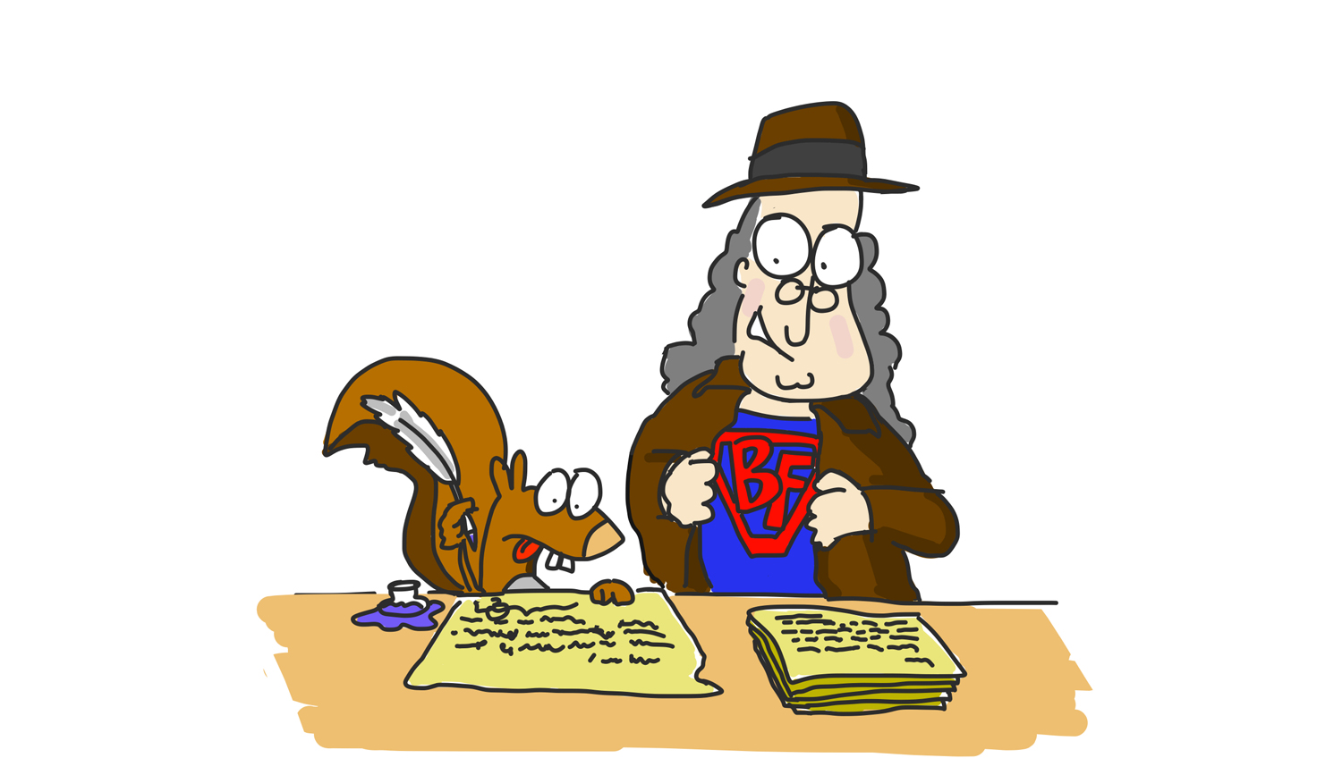 Benjamin Franklin as a journalist