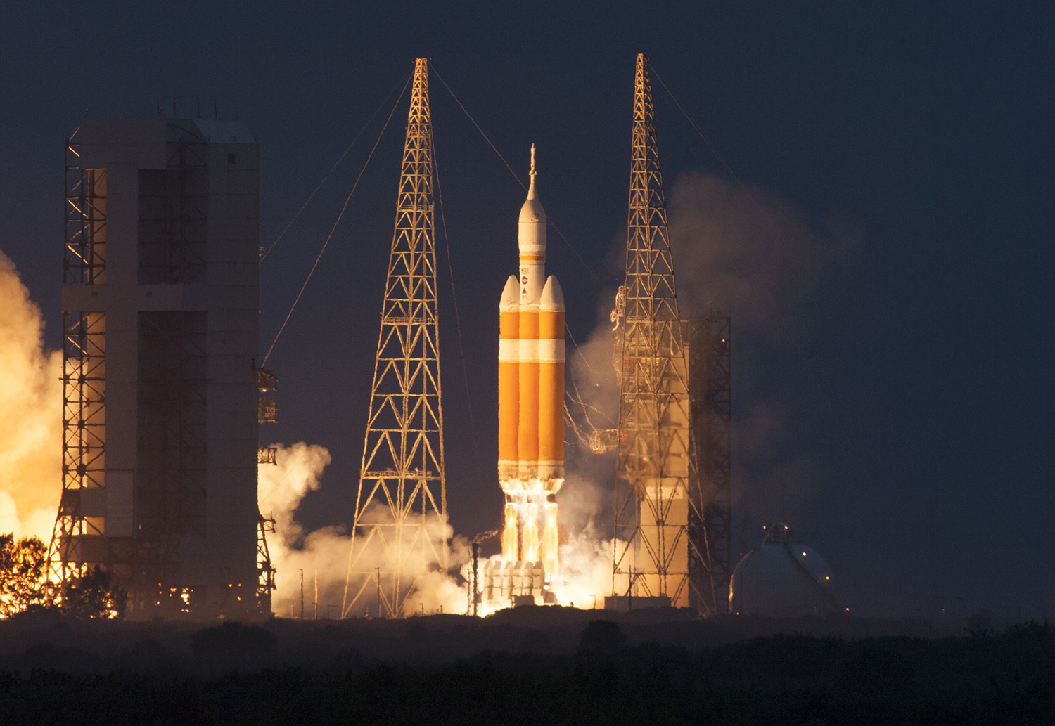 Orion Launch from UCS-3