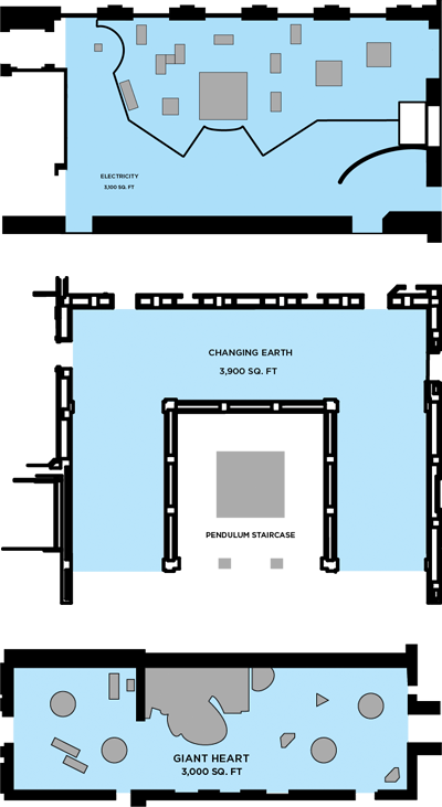 Electricity Changing Earth and Heart Floor Plans