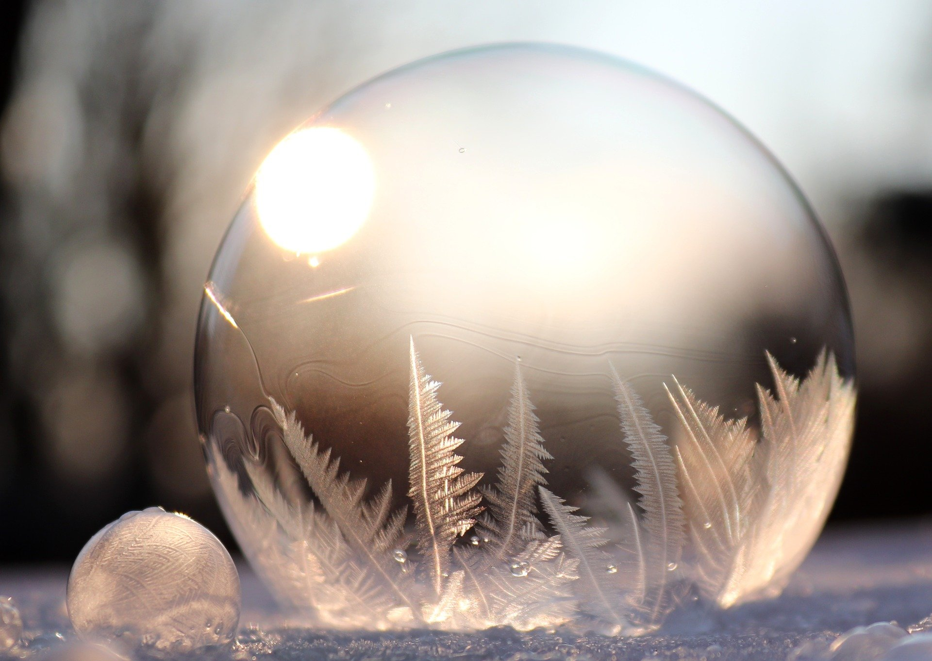 ice-soap-bubble