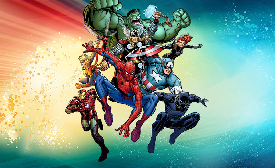 Marvel: Universe of Super Heroes Graphic