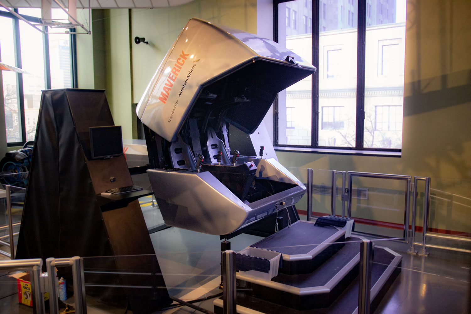The Maverick Flight Simulator
