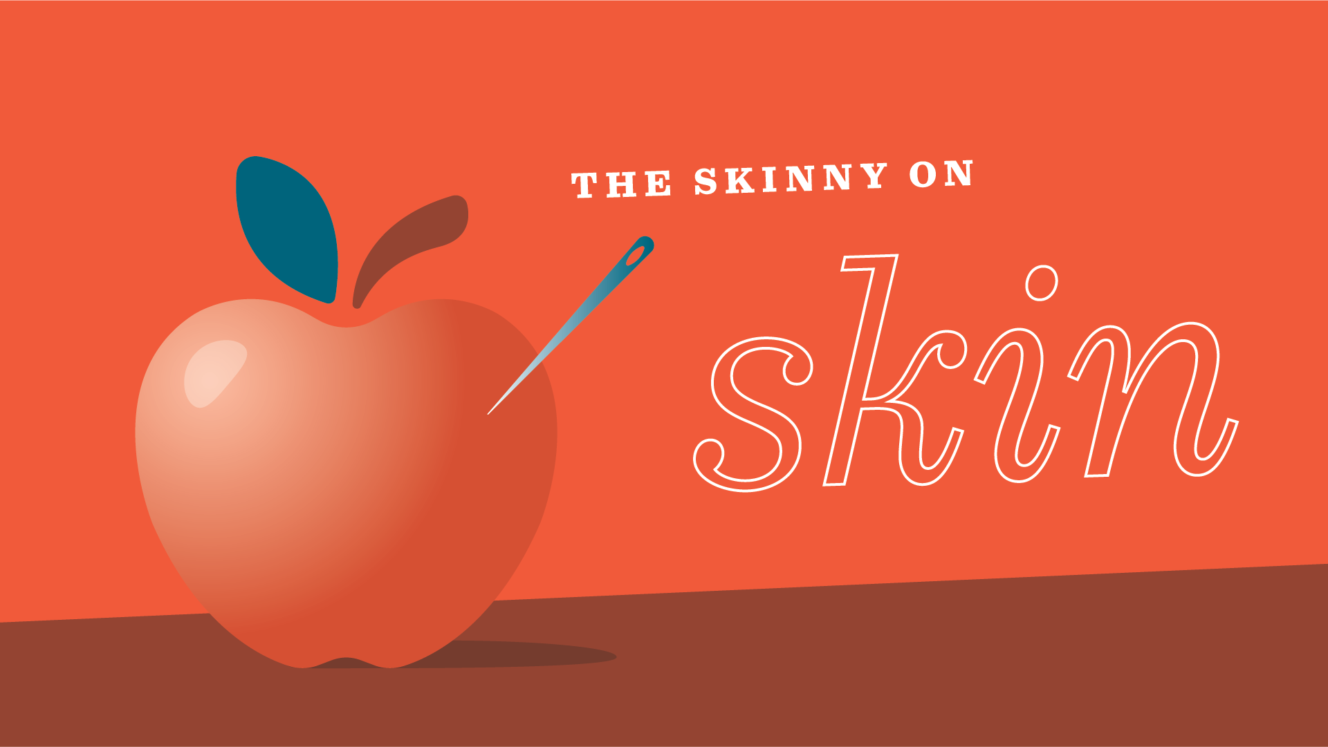 Even apples need skin science recipe
