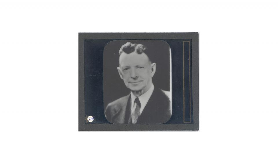 Photograph of Coolidge, Lantern Slide.
