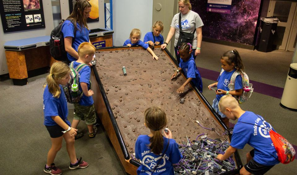 Image of Summer Camp Group Visiting Museum