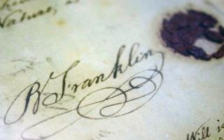 Benjamin Franklin's second will