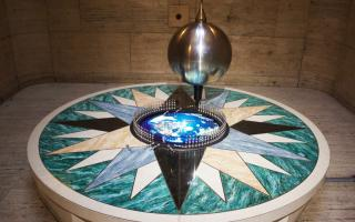 Foucault Pendulum at The Franklin Institute