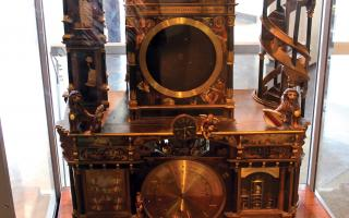 Strasbourg Cathedral Clock in the Amazing Machine exhibit at The Franklin Institute.
