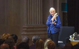 Jane Goodall at the Franklin Institute Speaker Series