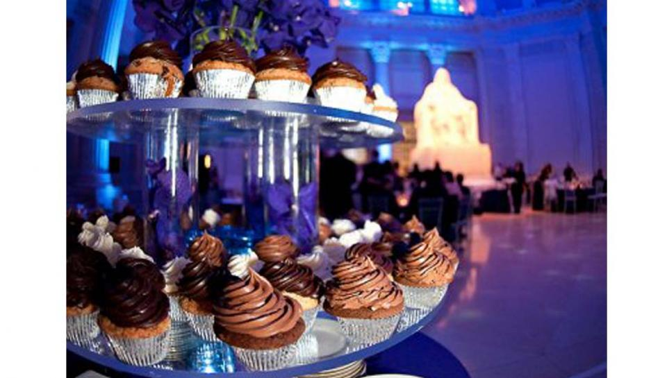 Cupcakes prepared by Frog Commissary at The Franklin Institute.