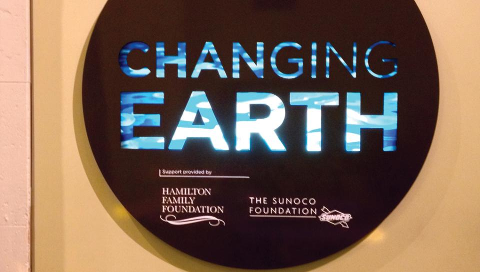 Changing Earth is generously funded by the Hamilton Family Foundation and The Sunoco Foundation.