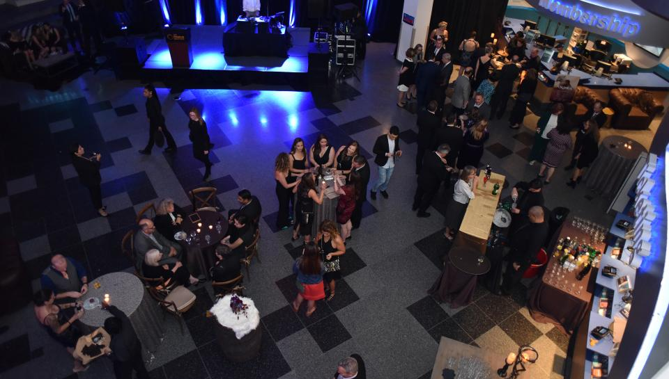 overview of Vikings Gala