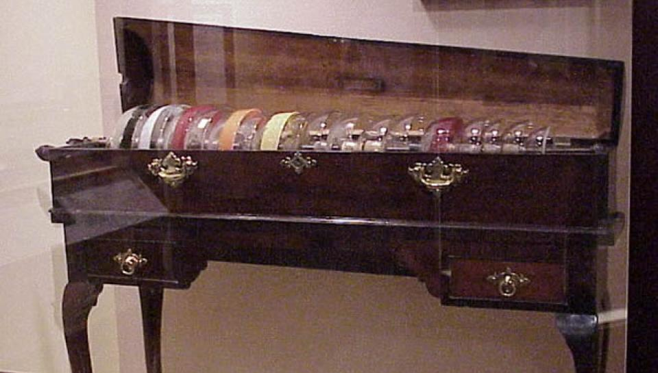 Photo of glass armonica