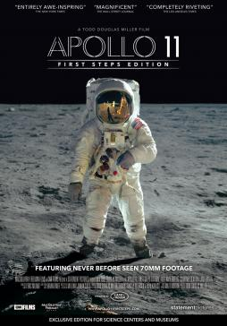 Movie Poster for Apollo 11: First Steps Edition